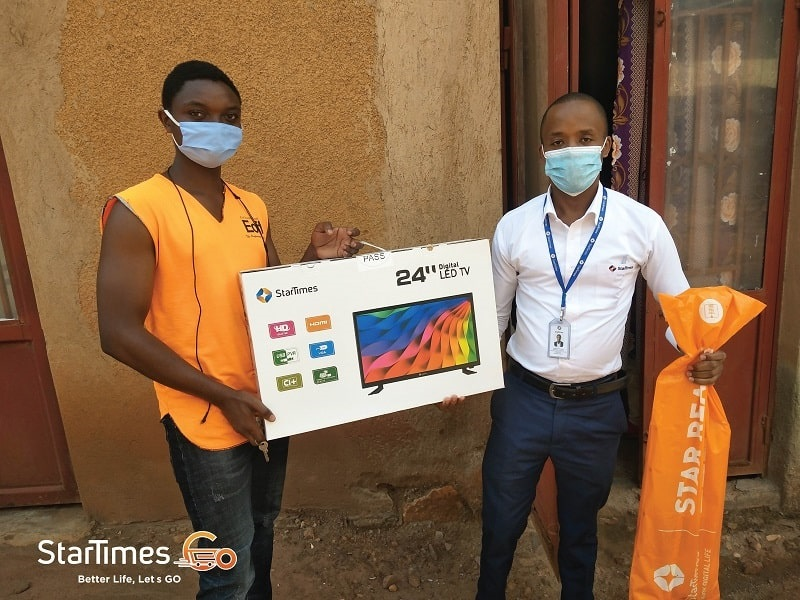 StarTimes – Excited to get connected with the first customer of StarTimes GO!