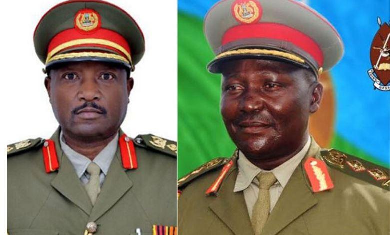 Igihugu cya Uganda cyapfushije Abajenerali 2 ku munsi umwe biyongera ku bandi 2 nabo bapfuye mu kwezi gushize kwa Kamena