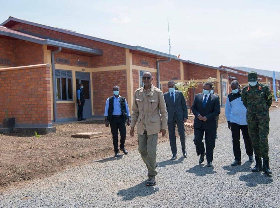 Nyagatare: Perezida Kagame yatashye umudugudu w'icyitegererezo watwaye akayabo ka miliyari 88 FRW