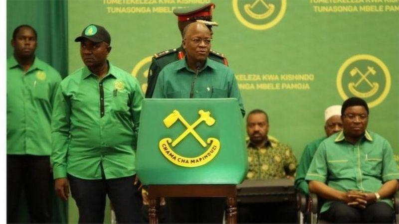 Tanzania: Magufuli yemejwe nk'umukandida wa CCM mu matora ya perezida