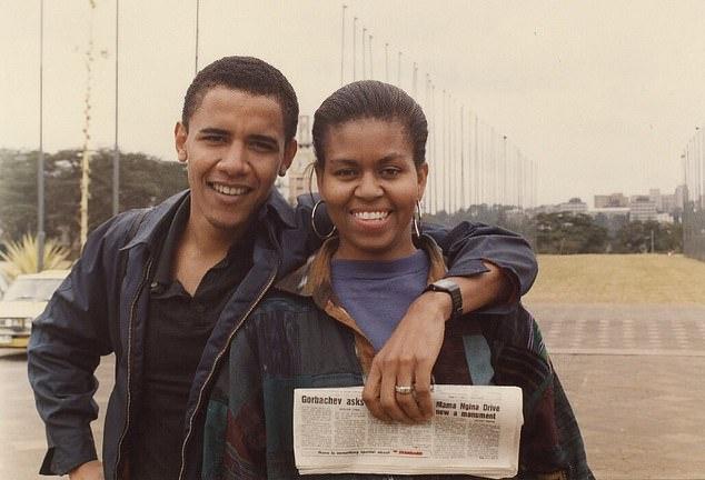 Hari igihe cyageze nkumva nasunika Barack Obama mu idirishya-Michelle Obama