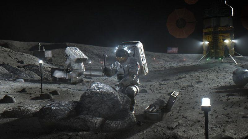 NASA yerekanye gahunda yo kugeza umugore wa mbere ku kwezi bitarenze 2024