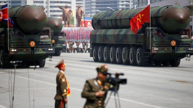 Ibyo wamenya kuri missile nini cyane Koreya ya ruguru yerekanye mu karasisi yambukiranya imigabane