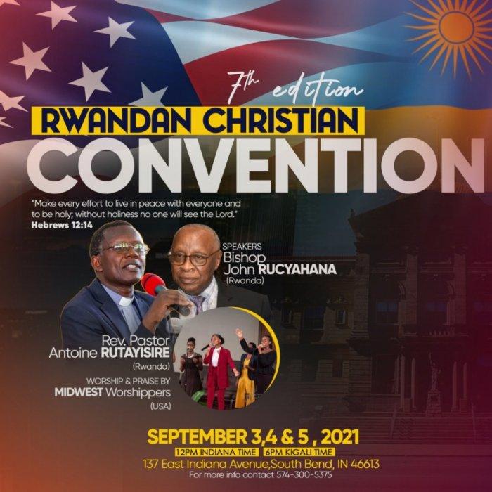 """Abanyarwanda baba mu mahanga bagiye kongera guhurira mu giterane """"Rwandan Christian Convention'' imbonankubone"""