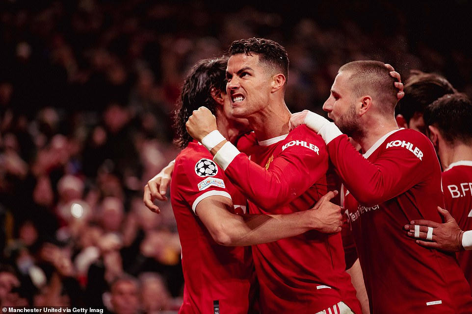 Cristiano Ronaldo yashimangiye ko ari umwami wa Champions League arokora United