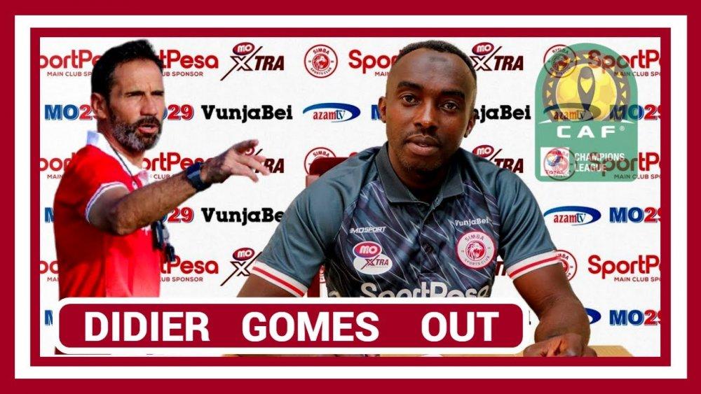 Hitimana Thierry yagizwe umutoza wa Simba SC nyuma yo kwirukanwa kwa Didier Gomes Da Rosa